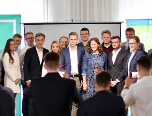 Starkes Zeichen für die Jugend – JVP-Graz startet in den Wahlkampf
